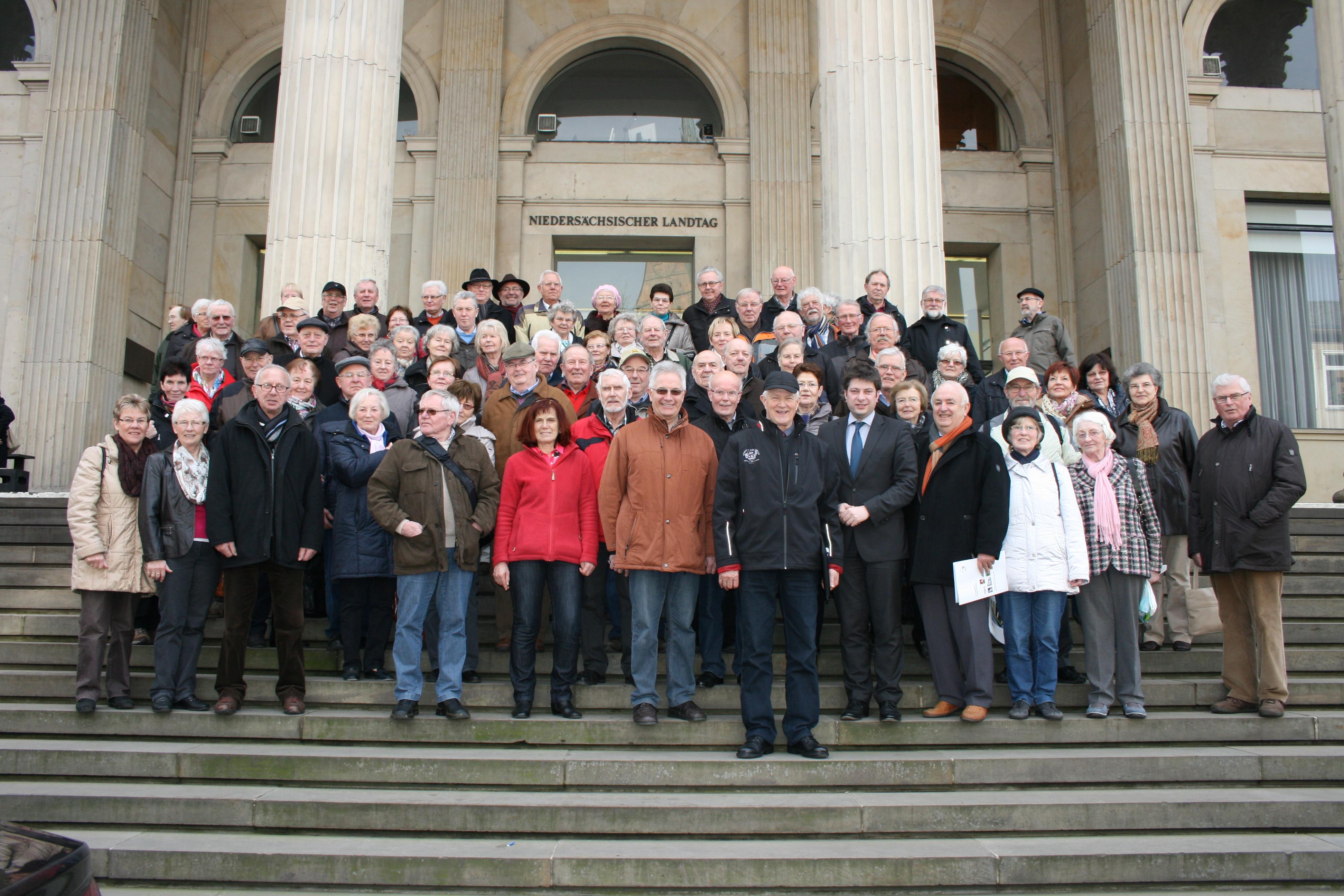 2014: Besuch der Senioren Union Dammer Berge.