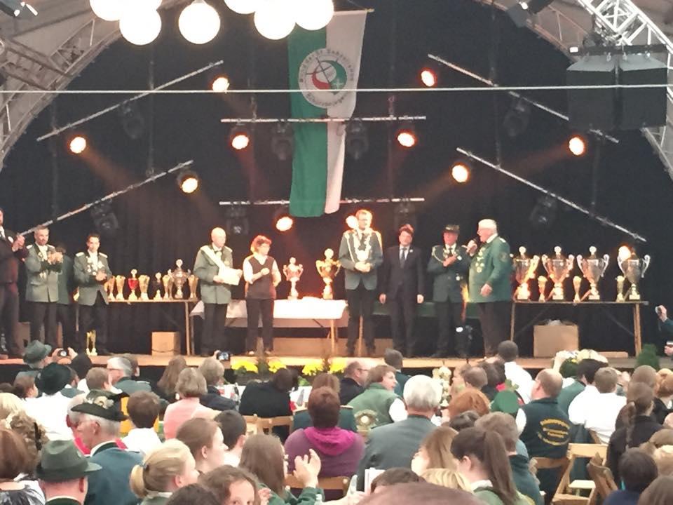 2014: Grandiose Bundesjungschützentage auf Einladung der Dammer St.-Viktor-Schützenbruderschaft in Damme. Ich durfte Schirmherr sein...
