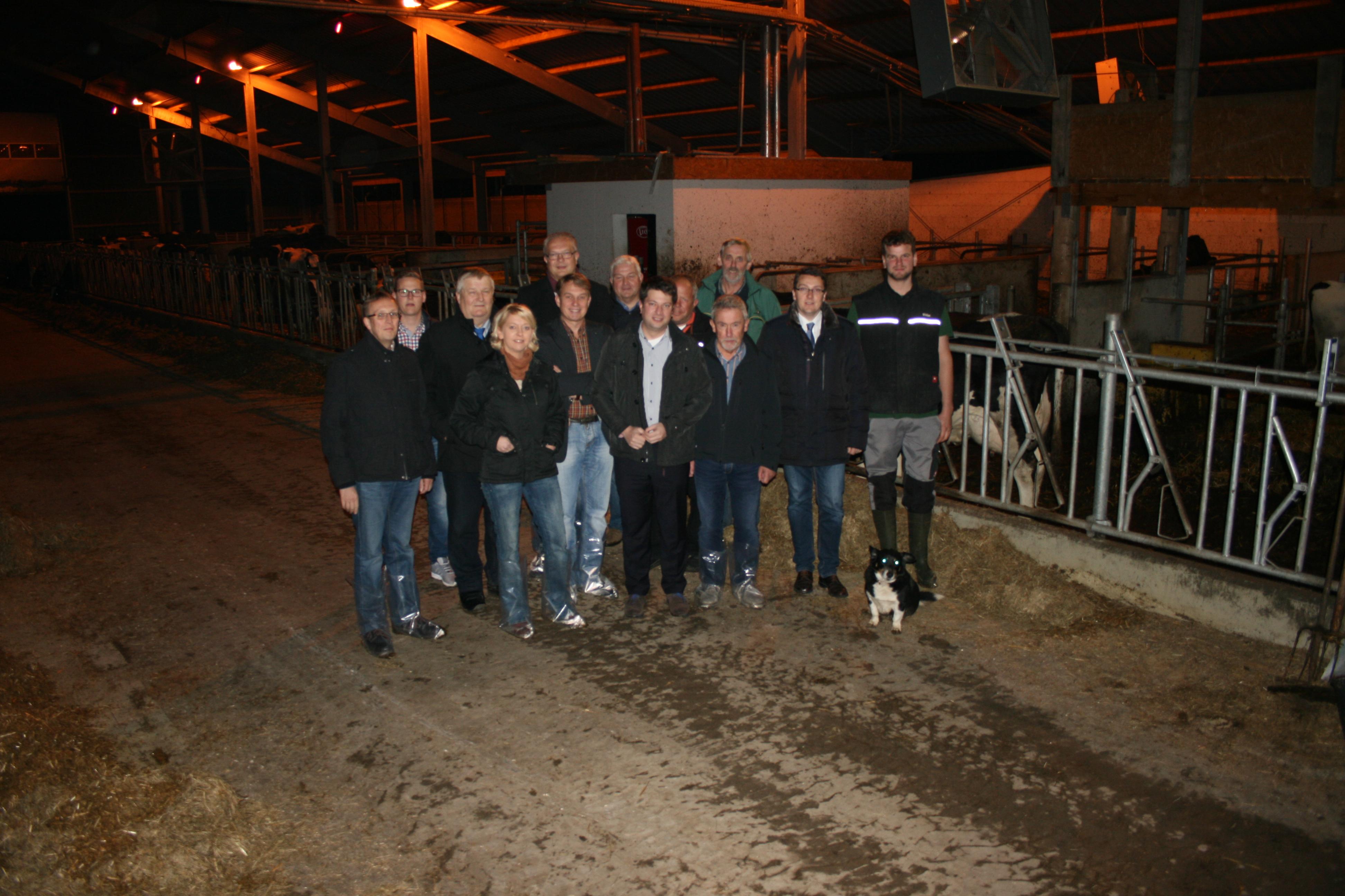 2014: Mit dem ehemaligen Niedersächsischen Landwirtschaftsminister Heiner Ehlen in Neuenkirchen i.O.
