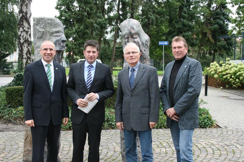 2012: Bürgermeisterbesuch in der Stadt Damme!