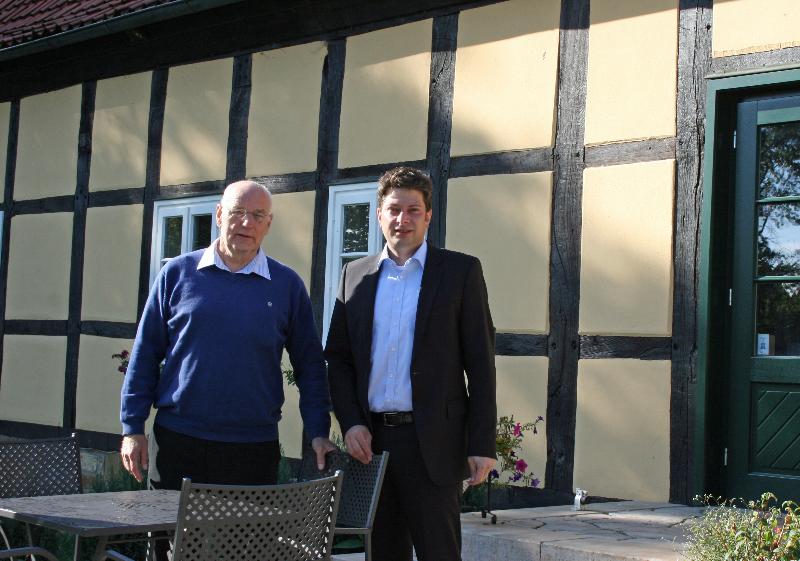 2012: Bürgermeisterbesuch in Fürstenau!