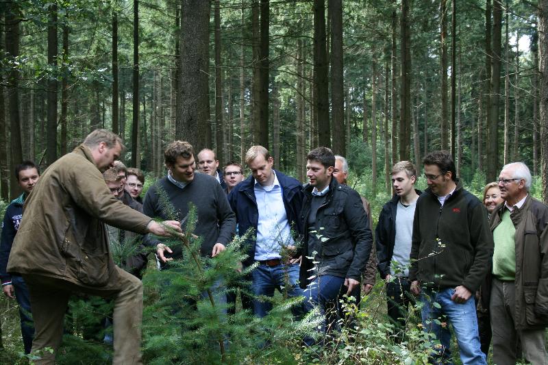 2012: Forstbegang in Bippen!