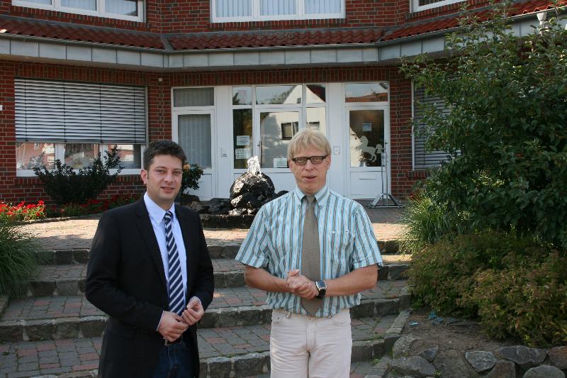 2012: Bürgermeisterbesuch in Rieste!