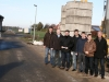 2016: Besuch des neuen Baugebietes in Grafeld.