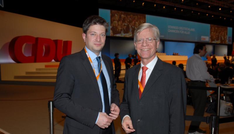 Auf dem Bundesparteitag 2012