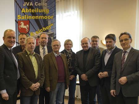 Besuch in der JVA Salinenmoor, die leider geschlossen wurde.