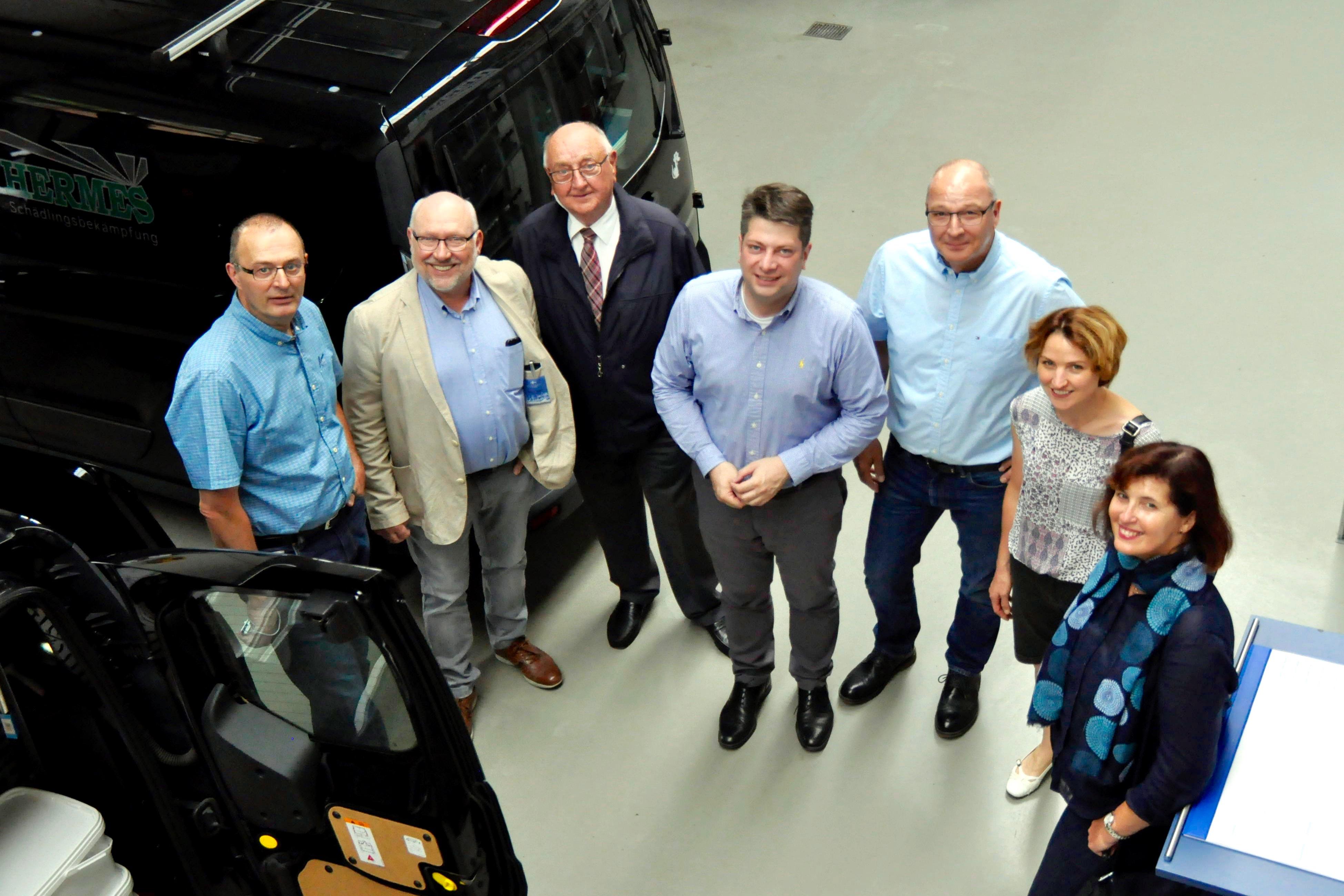 Mitten in Quakenbrück (fast): Firma Hermes Schädlingsbekämpfung.
