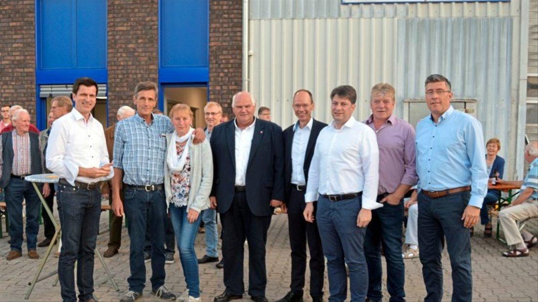 In das Recyclingunternehmen Övermöhle führte ein Info-Abend der CDU Kettenkamp.