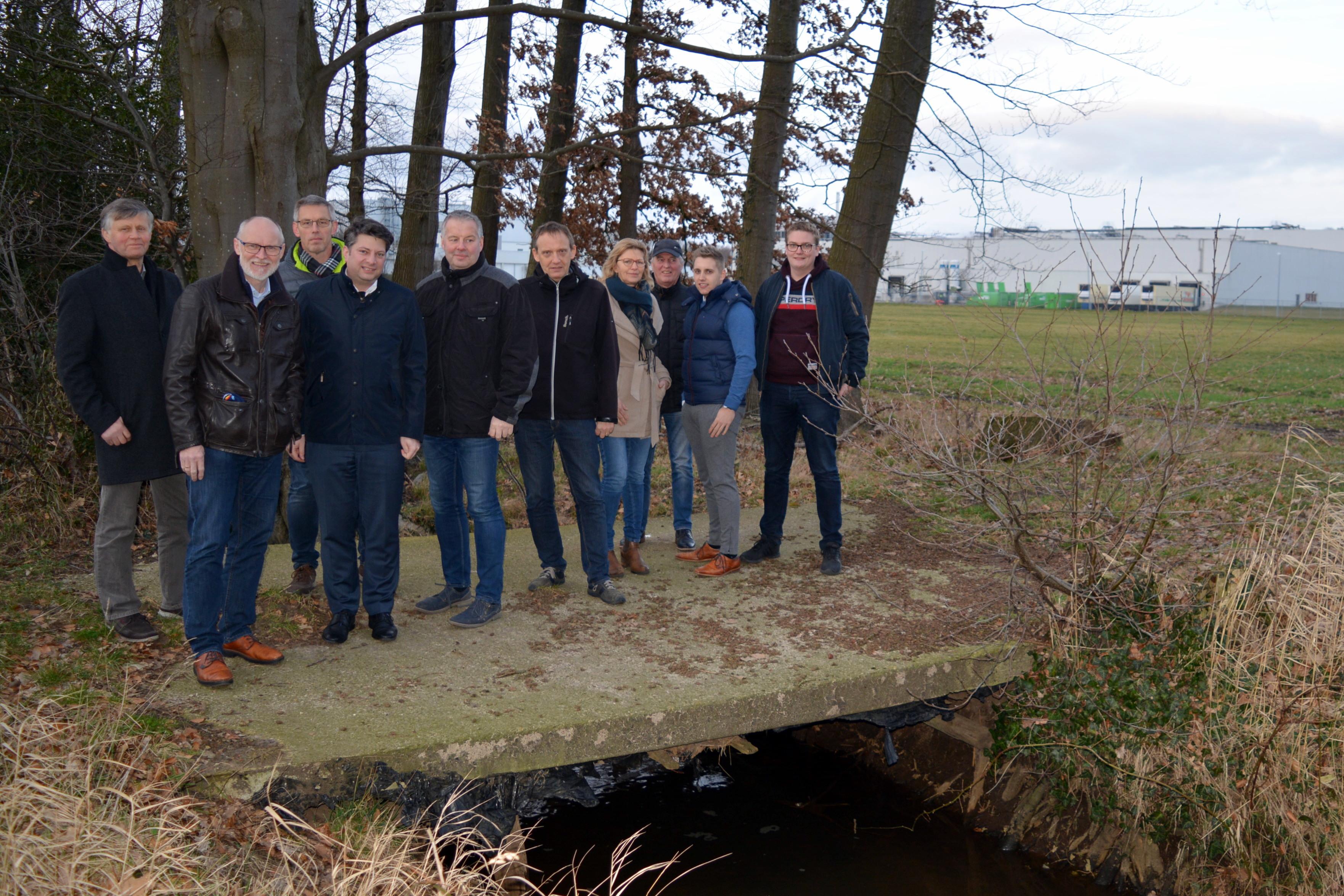 """Die Deklarierung des östlichen Arms des Eggermühlenbachs zu einem FFH-Gewässer würde die Erweiterung eine Industriebetriebes in Nortrup deutlich erschweren. Die CDU fordert deshalb Berücksichtigung beim Landschaftsschutzgebiet """"Bäche im Artland"""""""