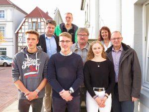 Jugendparlament im Gespräch mit der CDU-Stadtratsfraktion: Im Bereich der so genannten Bahnbrache sollen eine Skater- und Soccer-Anlage entstehen.