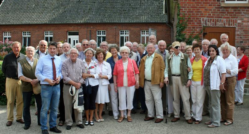 Mit den Senioren beim Waller!