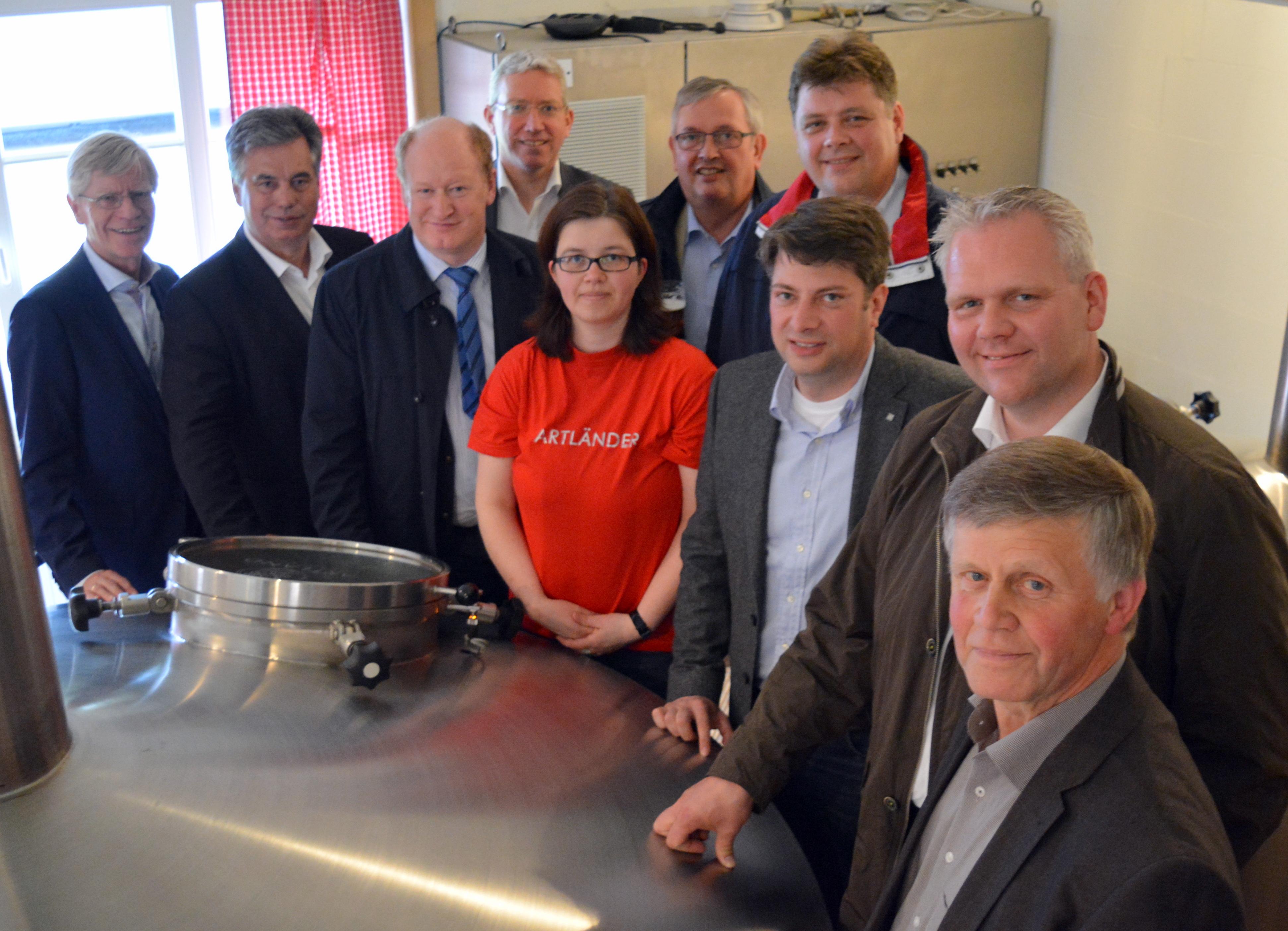 2016: Fraktionsabend der CDU-Landtagsfraktion in der Artland-Brauerei Nortrup.