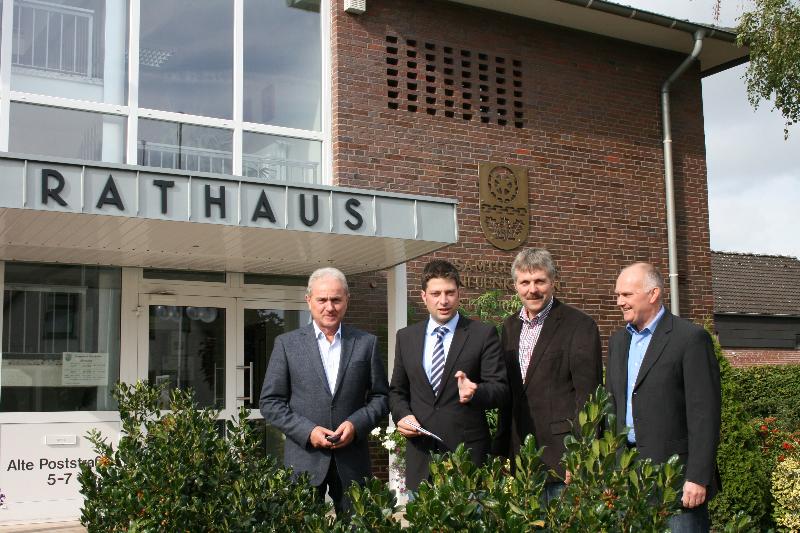 2012: Bürgermeisterbesuch in der Samtgemeinde Neuenkirchen