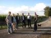 2013: Anliegergespräch wegen des geplanten Windpark Hardelage bei Ankum.