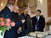 2017: Besuch des Fraktionsvorsitzenden der CDU-Landtagsfraktion, Björn Thümler, in der neu renovierten St.-Sylvesterkirche in Quakenbrück.
