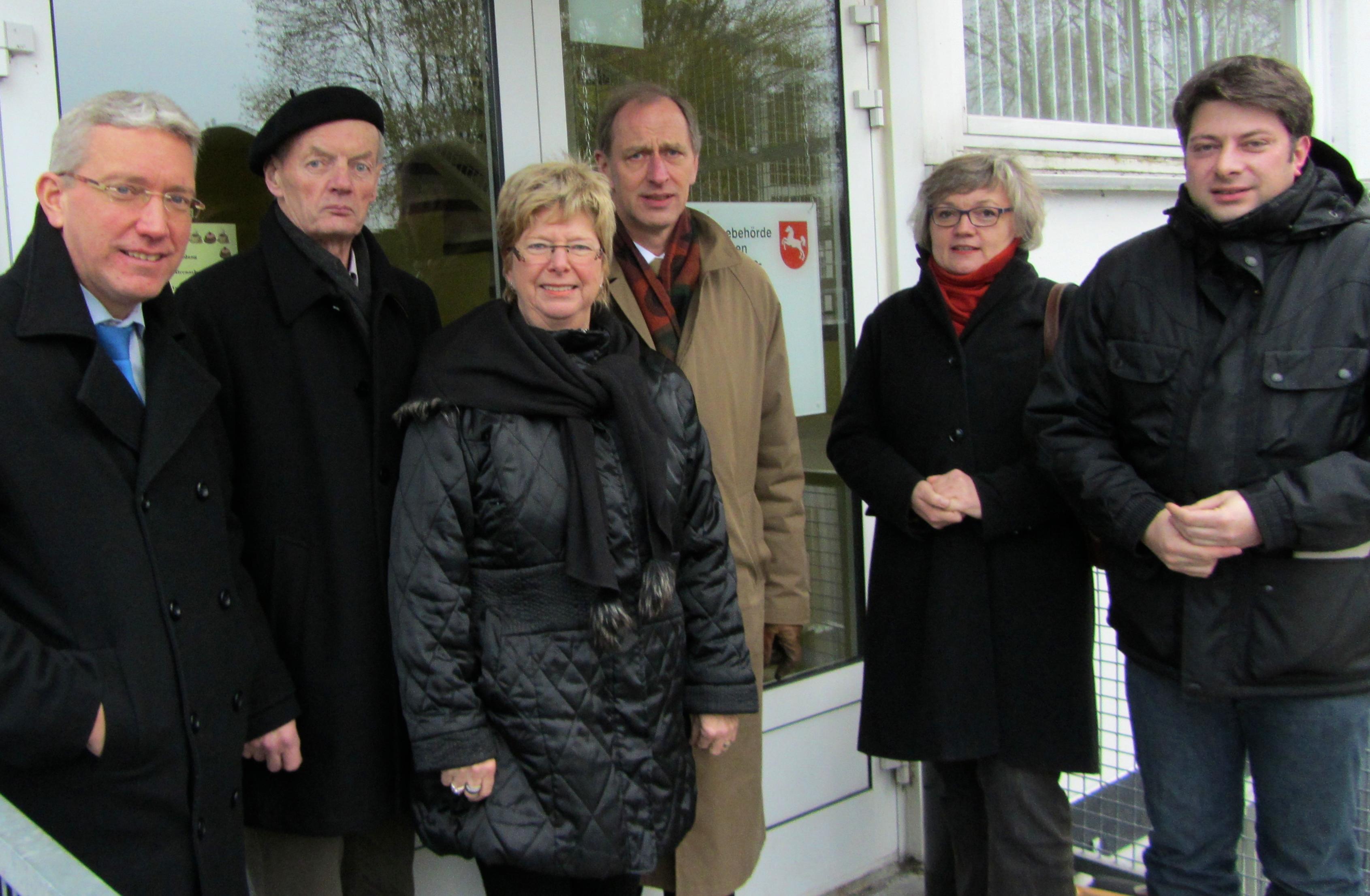 Im Dezember 2014 in der Landesaufnahmebehörde Hesepe.