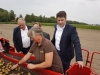 2017: Besuch eines landwirtschaftlichen Betriebes in Worphausen bei Bremen.