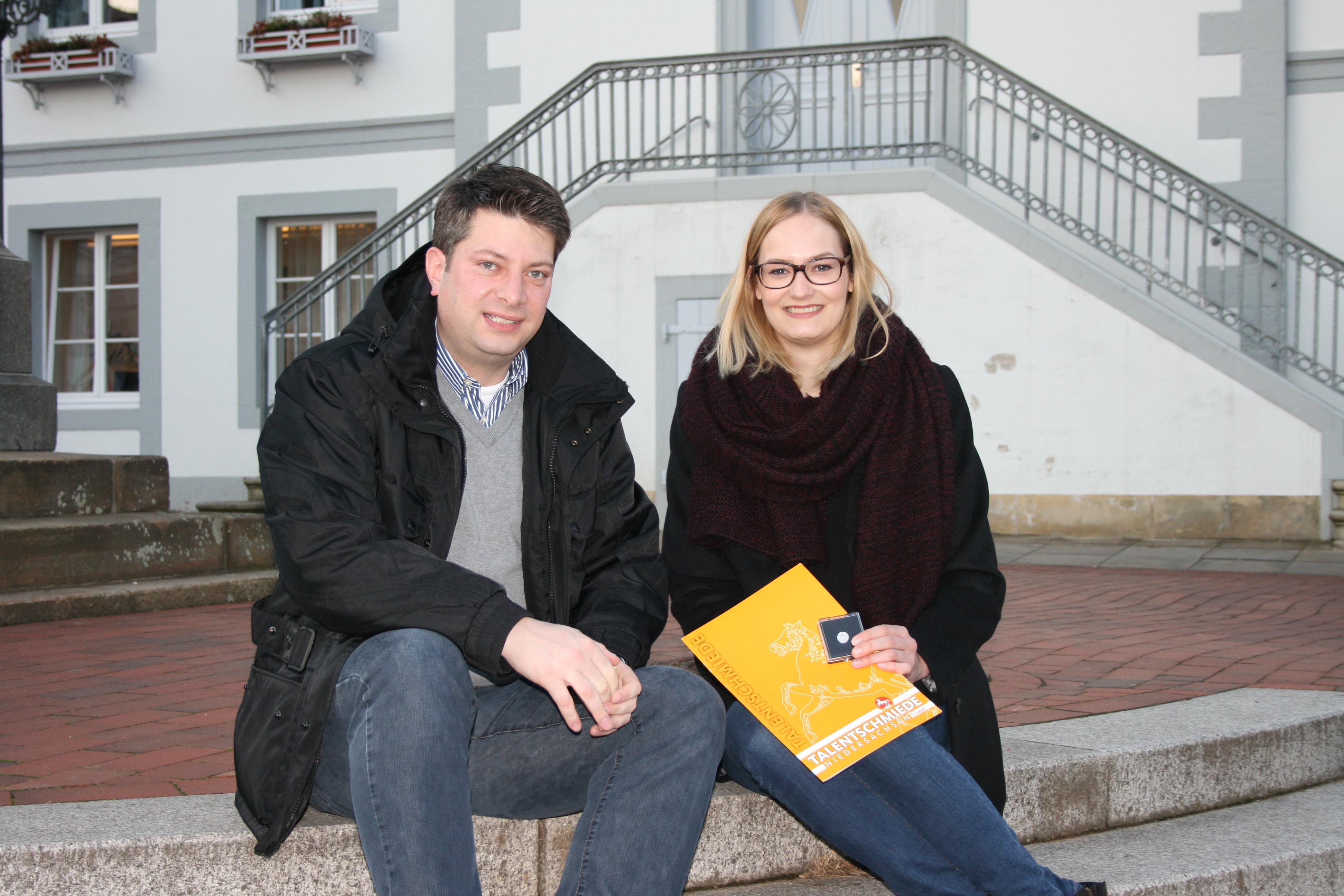 """2015: Mein """"Talent"""" heißt Theresa Brüggemann - Talentschmiede der CDU in Niedersachsen 2014/2015."""
