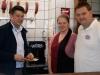Mitten in Bippen: Fleischerei Stenzel mit einem Wursttoaster! Lecker!