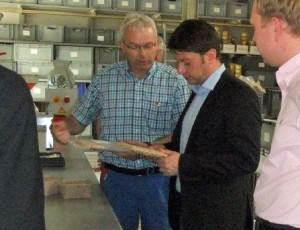 Informativ: Christian Calderone in Oldorf im Dammer Osten in der Mühle Austing.