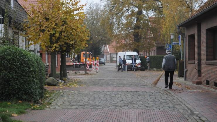 Die Anlieger der Deichstraße wollen ihre Wohnqualität zurückgewinnen. Foto: E. Gadeberg Archiv