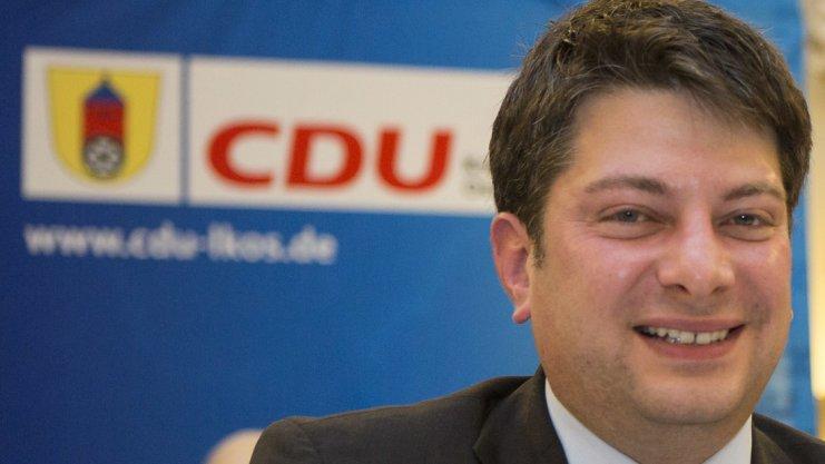 """CDU-Kreischef Christian Calderone will bei der Kommunalwahl im September eine """"gestalterische Mehrheit"""" im Kreistag wiedererlangen. Archiv-Foto: Swaantje Hehmann"""