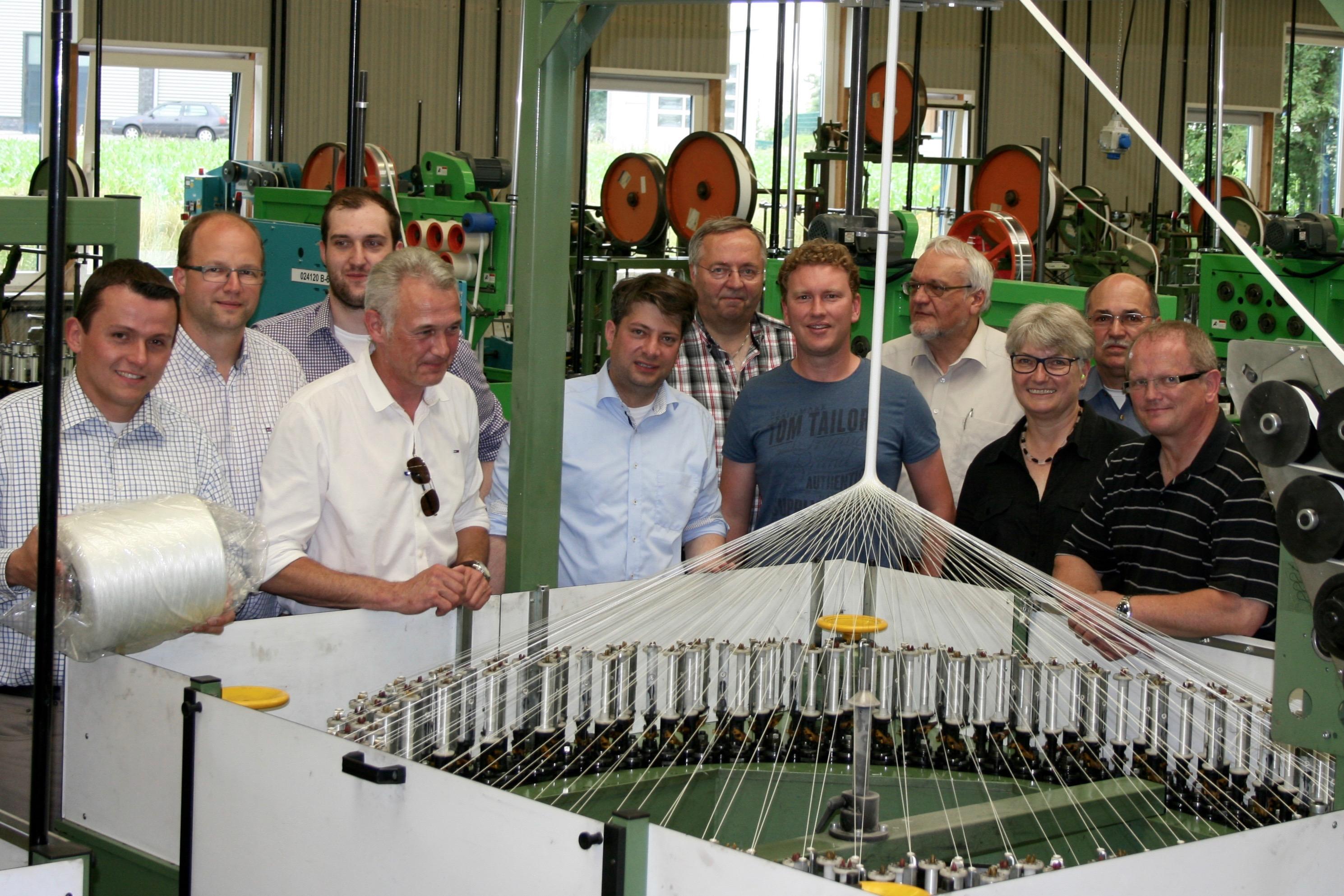 Rundgang durch die Produktionshallen der Firma Culimeta in Bersenbrück durch den Kreisvorstand der CDU Osnabrück-Land. Foto: Deters