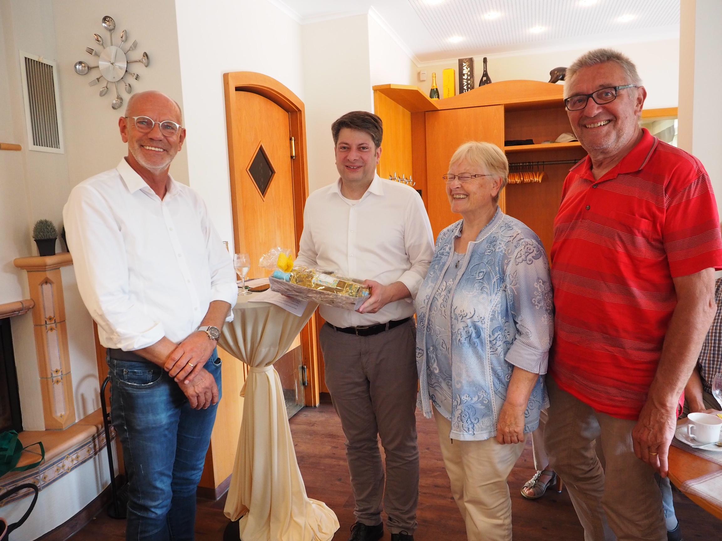 Christian Calderone bei der Senioren-Union Dammer Berge.