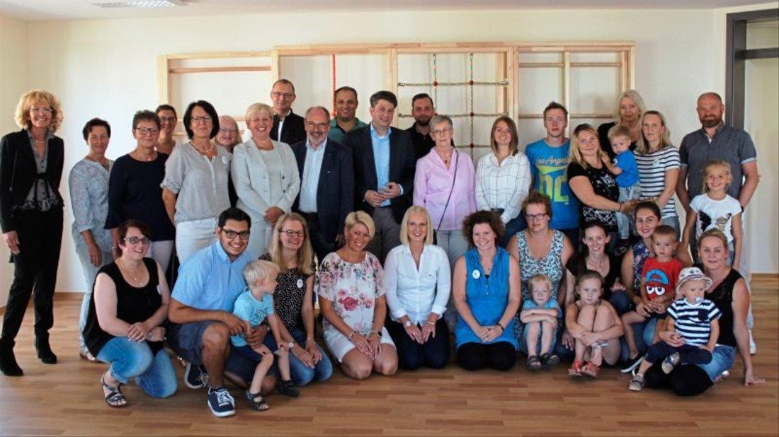 Nach acht Monaten Bauzeit stellte die Diakonische Stiftung Bethanien die neuen Kita-Räume während einer Einweihungsfeier vor.